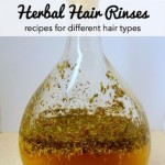 6 Hair Rinses for Healthy and Shiny Hair