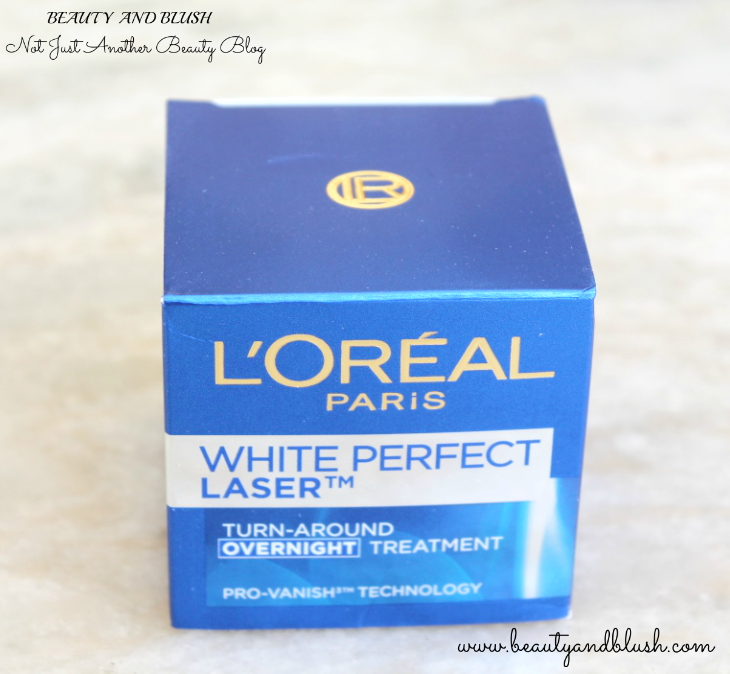 L'Oreal Paris White Perfect Laser Overnight Treatment Review - Beauty and Blush