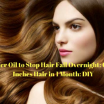 Wonder Oil to Stop Hair Fall Overnight: Grow 2 Inches Hair in 1 Month: DIY