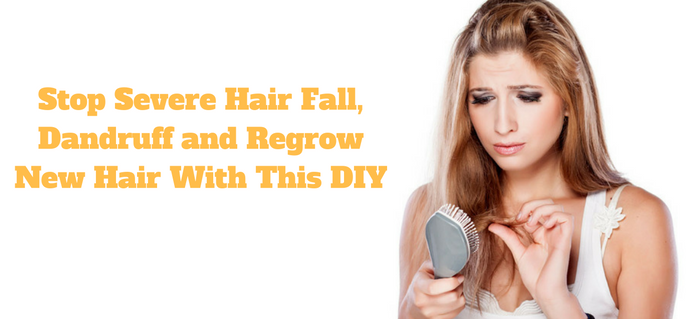 how to stop oily hair fall
