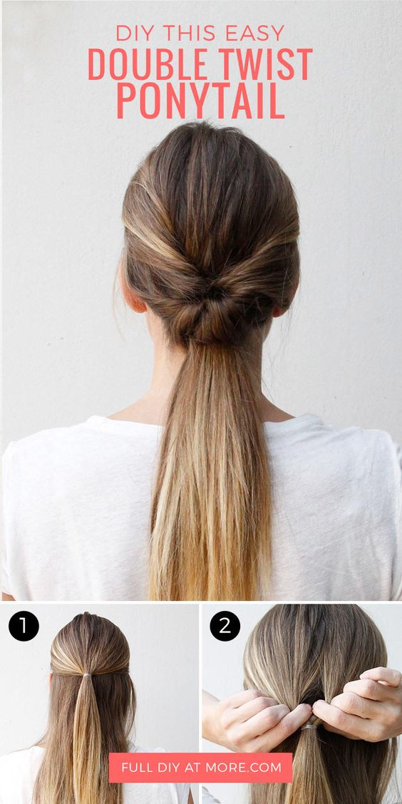 12 Cute And Easy Hairstyles That Can Be Done In A Few
