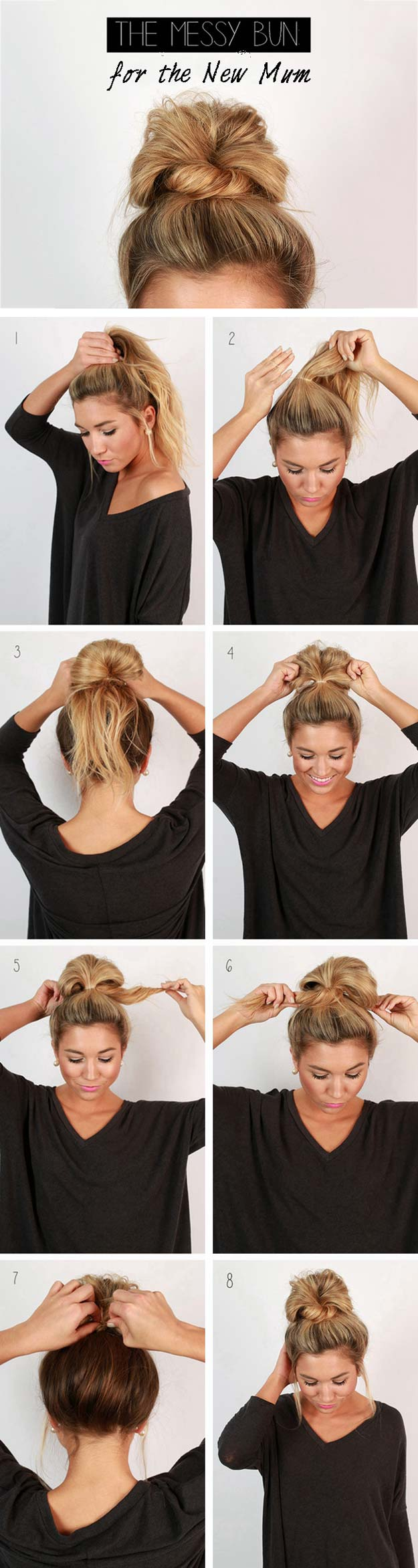 12 Cute and Easy Hairstyles that Can Be Done in a Few ...