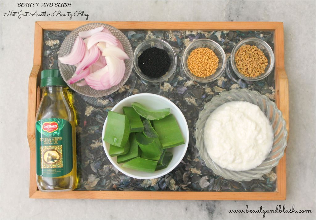 Aloe Vera And Onion Hair Mask For Long Thick And Healthy Hair Diy