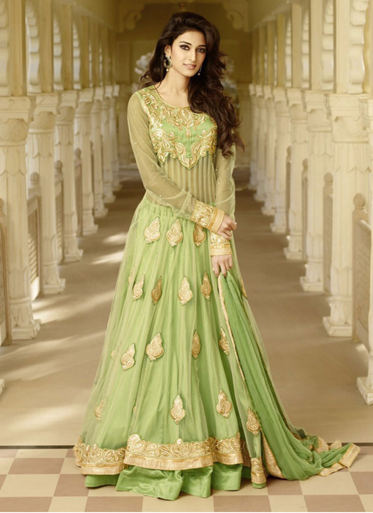 Choose your style from a wide variety of Anarkali