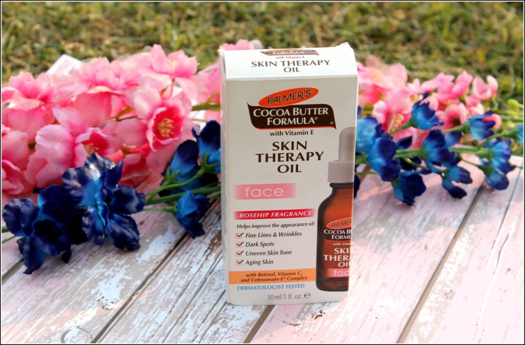 Palmer's Cocoa Butter Formula Skin Therapy Face Oil Review