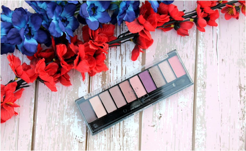 Faces Ultime Pro Eye Shadow Palette - Rose Review, Swatches and Photos