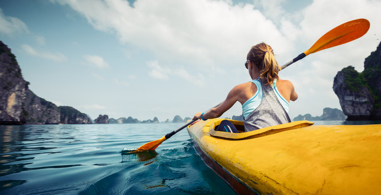 Five Clear Health Benefits of Kayaking