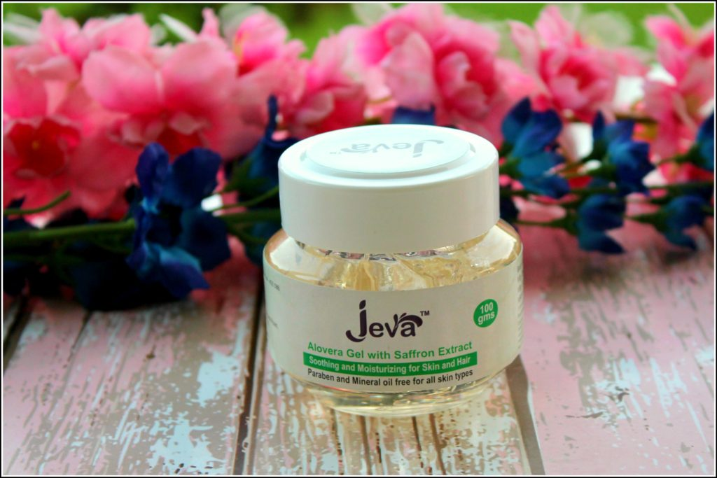 Jeva Aloevera Gel with Saffron Extract Review