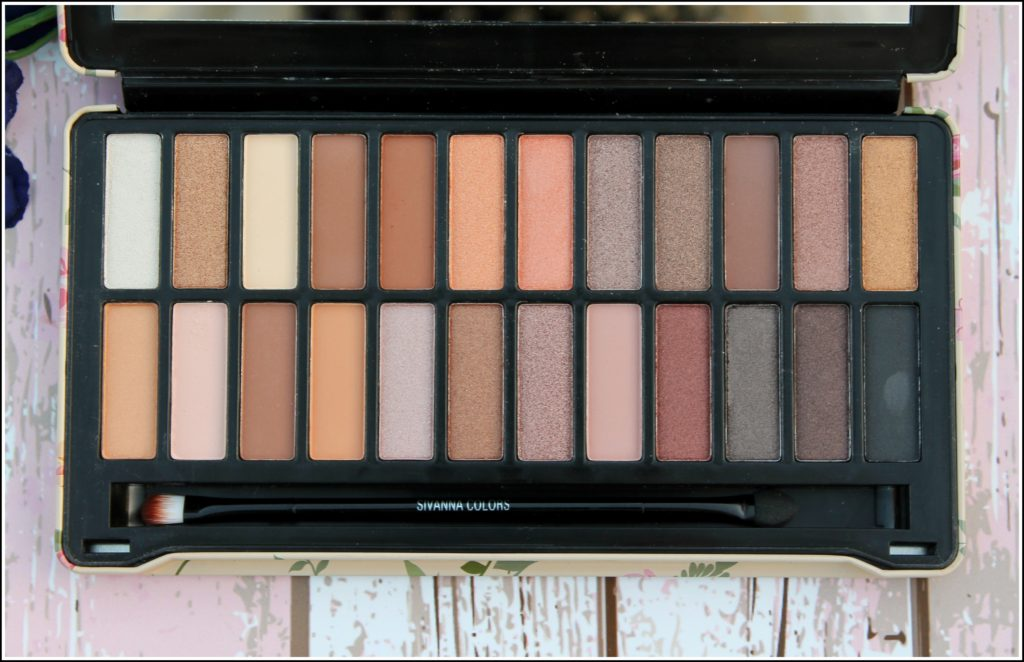 Sivanna Colors Makeup Studio Eyeshadow Palette in Naked Nude
