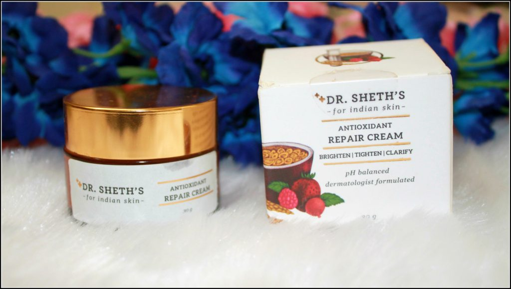 Dr. Sheth's Antioxidant Repair Cream Review